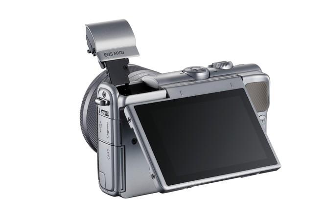 Máy ảnh không gương lật Canon EOS M100 giá 13 triệu đồng, lên kệ đầu tháng 10 tới ảnh 2