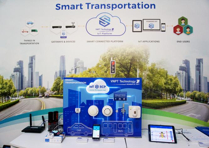 Mô hình giải pháp Smart Transportation của VNPT Technology
