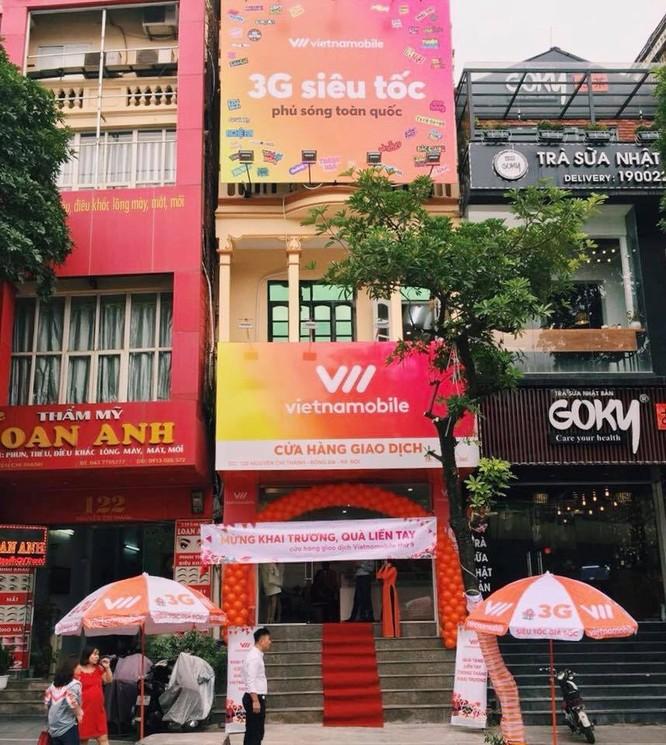 Khai trương cửa hàng giao dịch Vietnamobile tại Nguyễn Chí Thanh, Đống Đa, Hà Nội ngày 25/10/2017