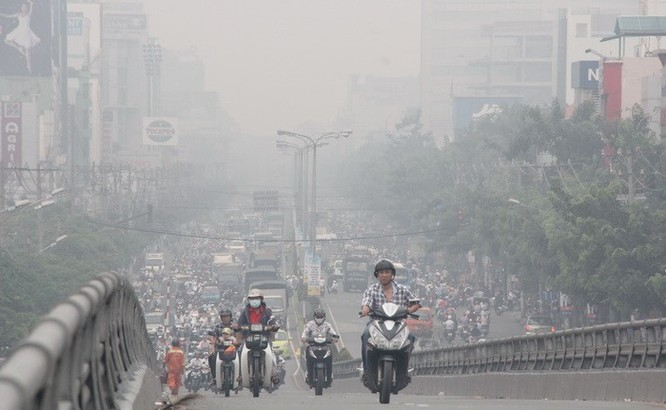 Giao thông là một trong những tác nhân gây ô nhiễm môi trường tại Việt Nam