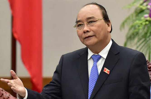 Thủ tướng Nguyễn Xuân Phúc. Ảnh: VGP/Quang Hiếu