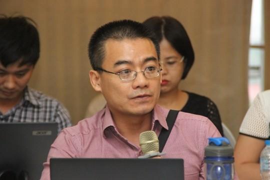 Ông Vũ Tú Thành, Phó Giám đốc khu vực Đông Nam Á, Hội đồng KInh doanh Hoa Kỳ ASEAN. Ảnh: Lam Nguyên