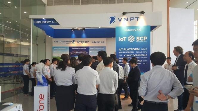 VNPT trình diễn các giải pháp IoT tại Hội nghị Thành phố thông minh Bình Dương 2017 ảnh 1