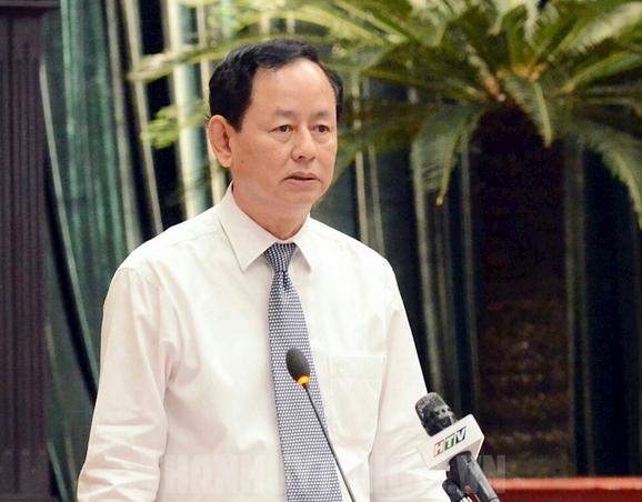 Cục trưởng Cục thuế TP.HCM Trần Ngọc Tâm. Ảnh: Đảng bộ TP.HCM.