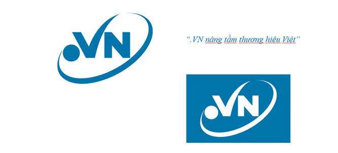 """VNNIC vừa ra mắt logo chính thức cho tên miền quốc gia """".VN"""" với thông điệp """".VN nâng tầm thương hiệu Việt""""."""