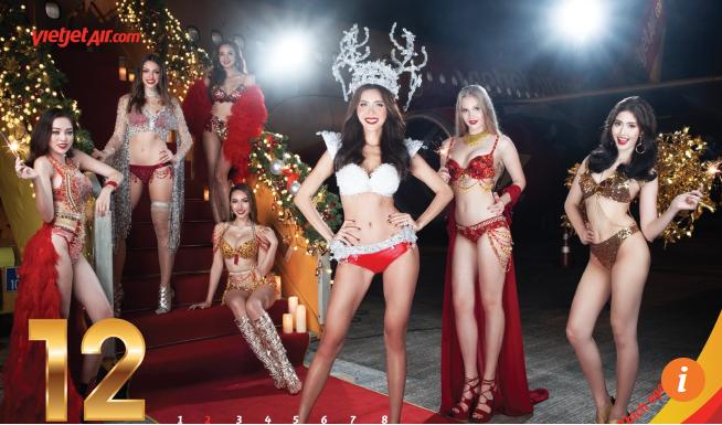 Báo quốc tế nói gì về bộ lịch Bikini 2018 gợi cảm của Vietjet Air? ảnh 1
