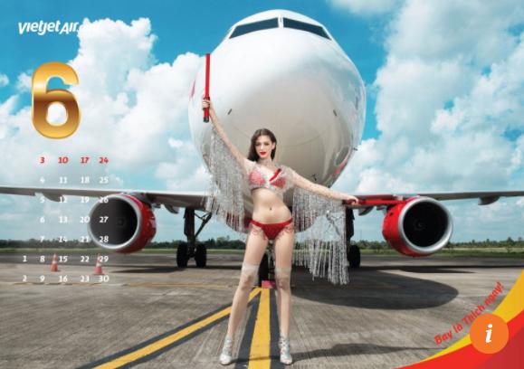 Báo quốc tế nói gì về bộ lịch Bikini 2018 gợi cảm của Vietjet Air? ảnh 2