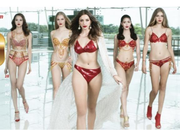 Báo quốc tế nói gì về bộ lịch Bikini 2018 gợi cảm của Vietjet Air? ảnh 3