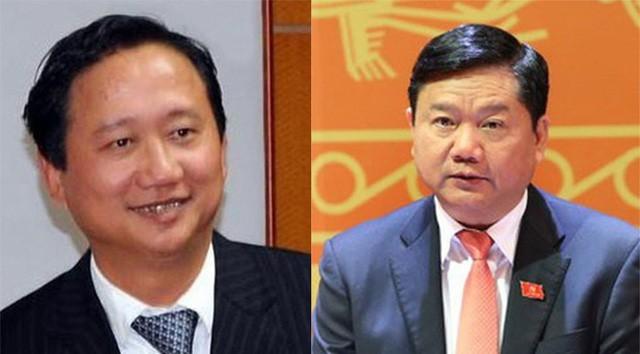 Bị cáo Trịnh Xuân Thanh có 5 luật sư, bị cáo Đinh La Thăng có 3 luật sư trong phiên tòa ngày 8-1 - Ảnh: TT