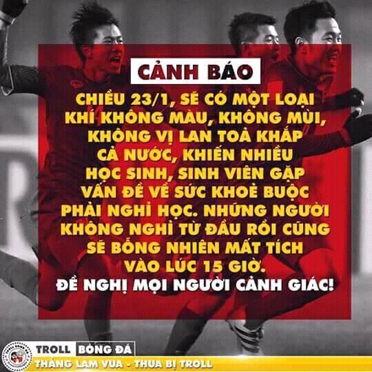 """Những bức ảnh thể hiện ý chí """"ngùn ngụt"""" của Cổ động viên U23 Việt Nam ảnh 3"""