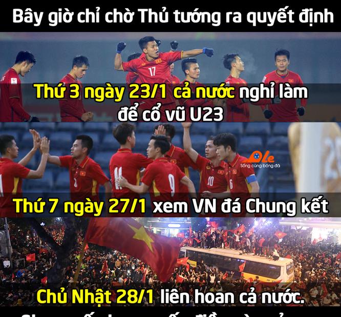 """Những bức ảnh thể hiện ý chí """"ngùn ngụt"""" của Cổ động viên U23 Việt Nam ảnh 1"""