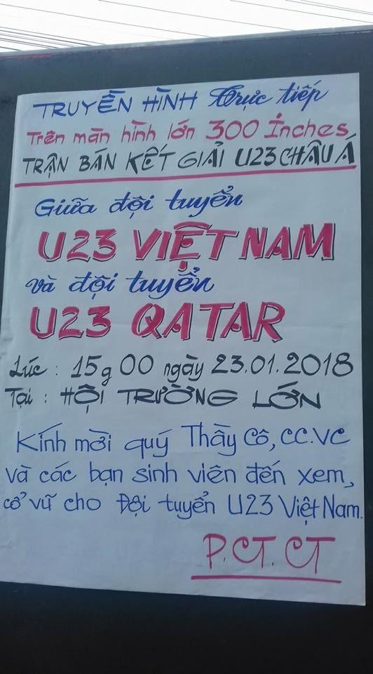 """Những bức ảnh thể hiện ý chí """"ngùn ngụt"""" của Cổ động viên U23 Việt Nam ảnh 4"""