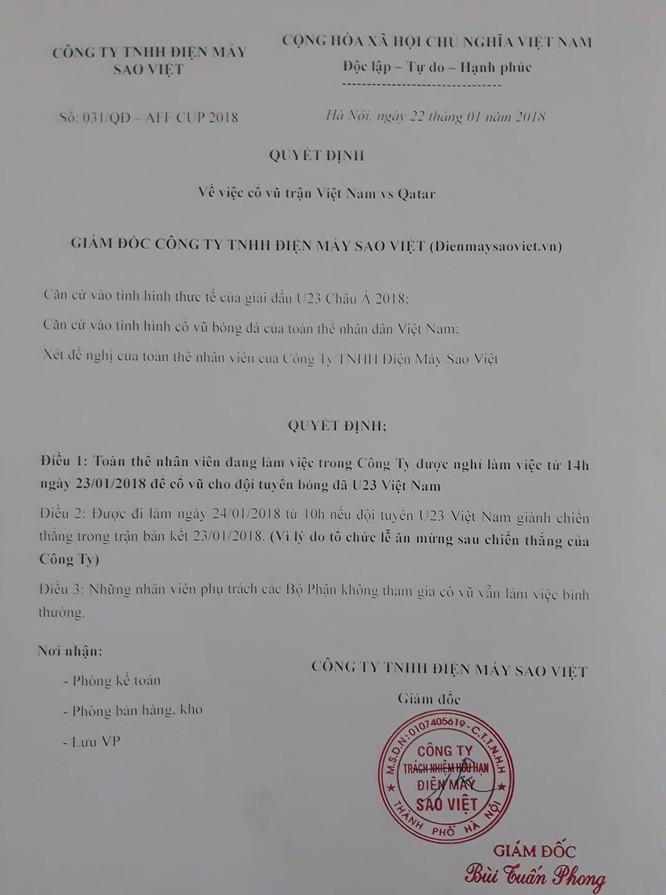"""Những bức ảnh thể hiện ý chí """"ngùn ngụt"""" của Cổ động viên U23 Việt Nam ảnh 5"""