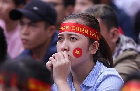 Cổ động viên tại Đa Nẵng. Ảnh: Nguyễn Đông