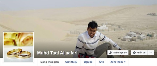 Trang cá nhân của vị trọng tài này bỗng nhiên không tồn tại trên Facebook.