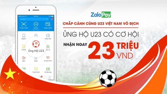 MoMo, Zalo Pay nhất loạt tổ chức hoạt động lì xì dành tặng U23 Việt Nam ảnh 2