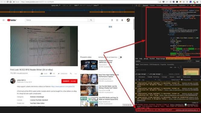 Một loại mã độc đào tiền ảo vừa được phát hiện trên các quảng cáo của YouTube.