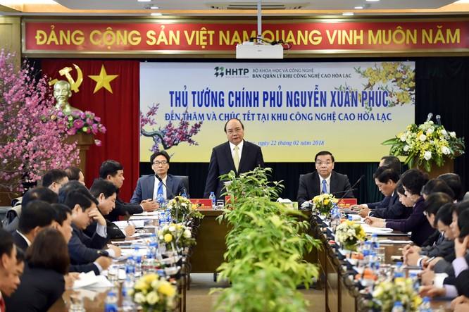 Thủ tướng: Kỳ vọng Khu CNC Hòa Lạc là nơi xây dựng hệ sinh thái khởi nghiệp ảnh 1