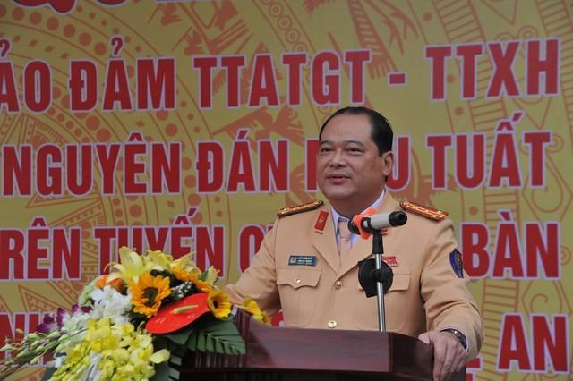 Đại tá Lê Xuân Đức, Phó Cục trưởng Cục CSGT. Ảnh: Cục CSGT