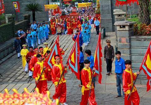 Lễ giỗ Tổ được tổ chức tại TP.HCM /// Ảnh: Đình Tuyên