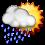 Sáng ngày Giỗ Tổ, cả nước có mưa, Hà Nội có mưa lớn ảnh 8