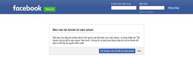 Cần làm gì khi bị hacker chiếm tài khoản Facebook? ảnh 1