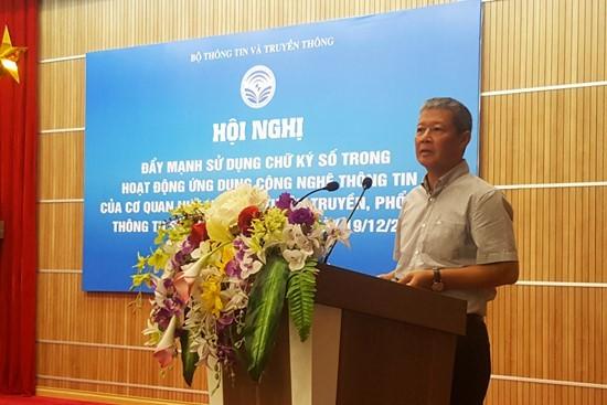 Bộ Tài chính và Đà Nẵng đứng đầu cả nước về áp dụng chữ ký số trong trao đổi văn bản điện tử ảnh 1