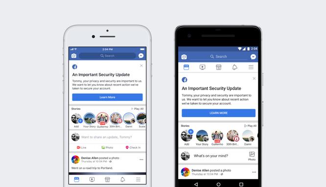 """Facebook đã làm gì để bảo vệ người dùng trước """"cơn bão hacker"""" ảnh hưởng 90 triệu tài khoản? ảnh 1"""