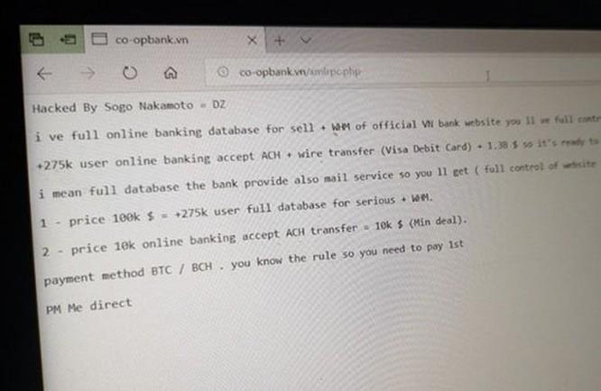 Người dùng Việt có thể khởi kiện ngân hàng vụ tin tặc rao bán 275.000 dữ liệu khách hàng với giá 100.000 USD?