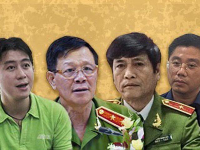Sáng nay, cựu Trung tướng Phan Văn Vĩnh cùng 91 đồng phạm hầu tòa