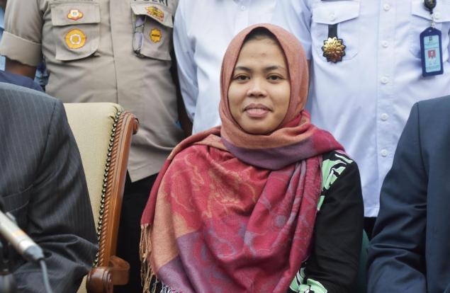 Siti Aisyah - người cùng với Đoàn Thị Hương, bị cáo buộc là nghi phạm trong vụ giết ông Kim Jong-nam bằng thuốc cực độc