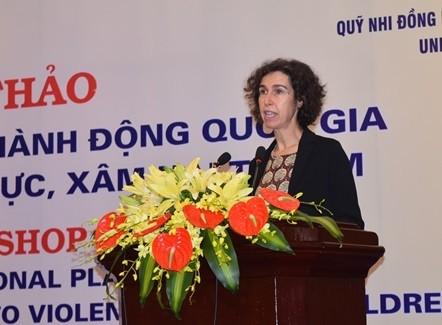 Bà Lesley Miller, Phó Trưởng Đại diện Unicef tại Việt Nam