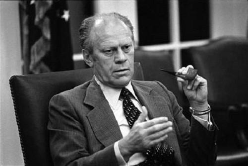 Cựu Tổng thống Gerald R.Ford - Ảnh: Reuters