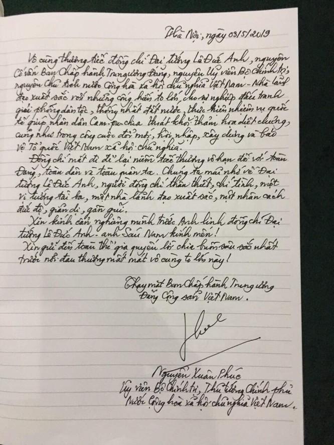 Thủ tướng Nguyễn Xuân Phúc: Đại tướng Lê Đức Anh - Nhà lãnh đạo xuất sắc với những cống hiến to lớn ảnh 2