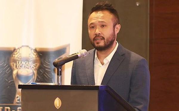 Ông Chris Tran, Giám đốc khu vực của Riot Games tại Đông Nam Á, Đài Loan, Hồng Kông và Ma Cao
