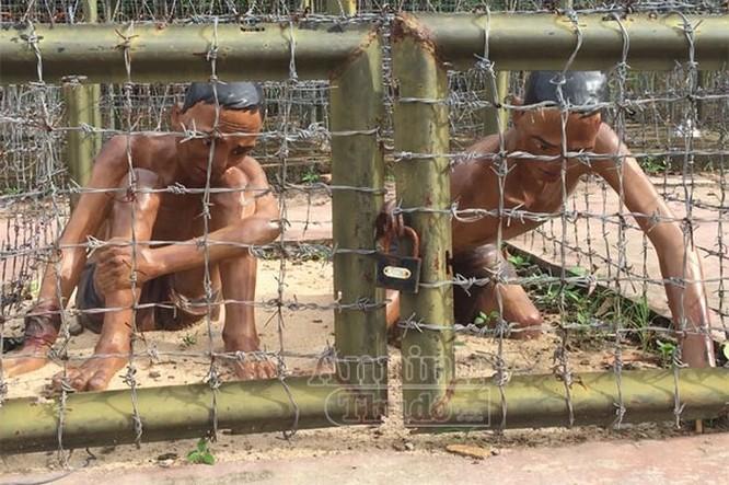 Chuồng cọp - một trong những hình thức tra tấn dã man tại nhà tù Phú Quốc