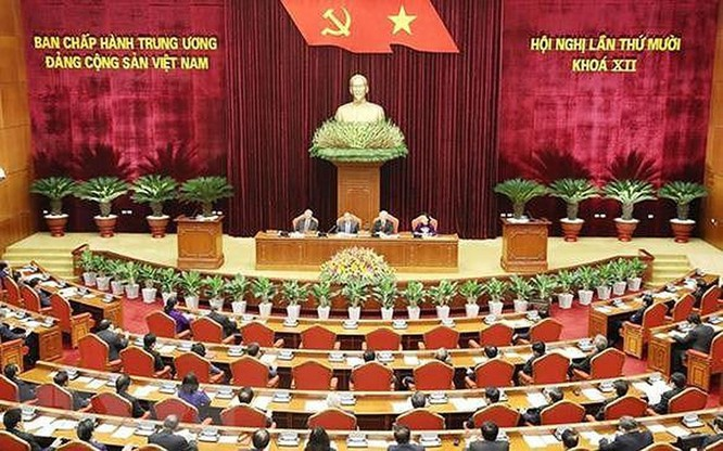 """Tổng Bí thư, Chủ tịch nước Nguyễn Phú Trọng: Vẫn còn cấp ủy biểu hiện """"trên có chính sách, dưới có đối sách"""" ảnh 1"""