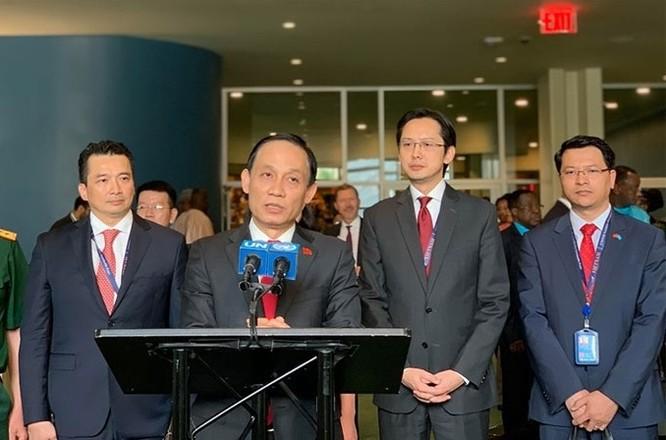 Việt Nam giành kỷ lục về số phiếu bầu Ủy viên không thường trực Hội đồng Bảo an Liên Hợp Quốc ảnh 1