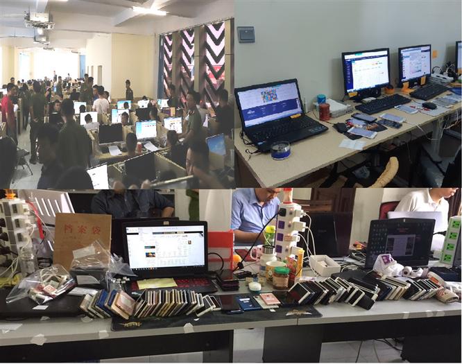 Triệt phá hàng trăm đối tượng người Trung Quốc đánh bạc qua mạng internet ảnh 1