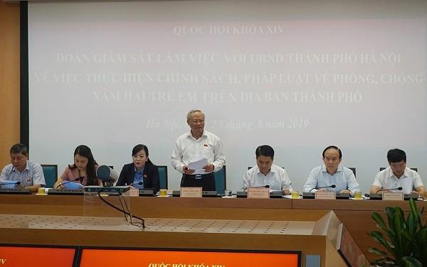 Hà Nội: Hơn 300 trẻ bị xâm hại trong hơn 4 năm qua ảnh 1