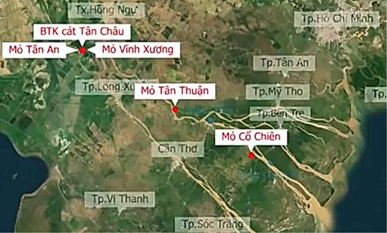 Dự án khu đô thị du lịch biển Cần Giờ, dự trữ sinh quyển rừng ngập mặn, phê duyệt ĐTM, cát san lấp, sạt lở, đồng bằng sông Cửu Long.