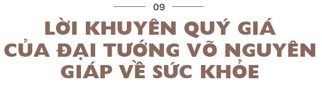 7 lời khuyên về sức khỏe của Đại tướng Võ Nguyên Giáp và bí quyết sống khỏe của Nguyên Bộ trưởng Lê Doãn Hợp - Ảnh 25.