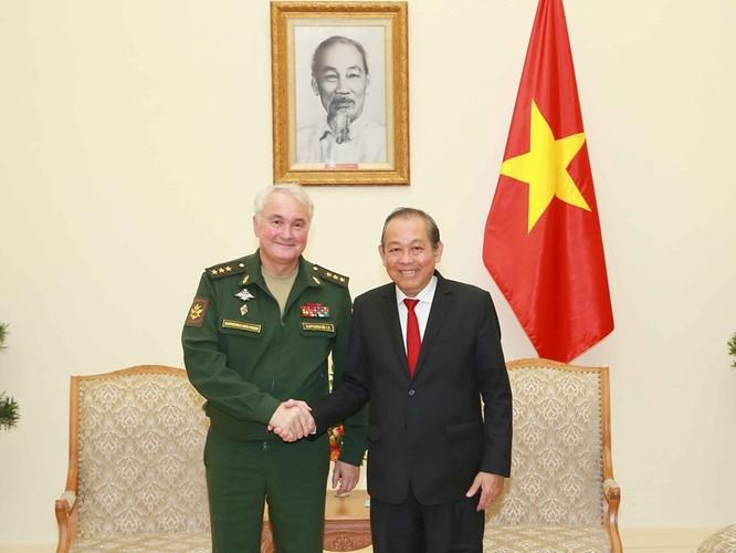 Nga sẵn sàng giúp Việt Nam tổ chức hội thao quân sự quốc tế ảnh 1