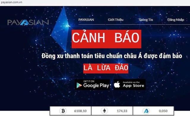 Bộ Công an công khai dấu hiệu lừa đảo của ví thanh toán điện tử PayAsian ảnh 2