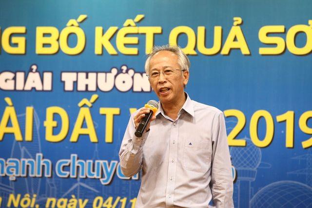 Ts Nguyễn Long - Chủ tịch Hội đồng Giám khảo Giải thưởng Nhân tài Đất Việt 2019 chia sẻ về những nét mới của Giải thưởng.
