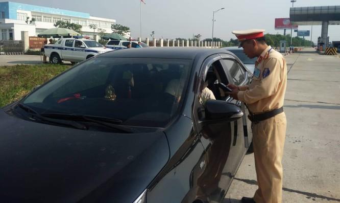 Tăng cường xử lý lái xe vi phạm nồng độ cồn trên cao tốc ảnh 1