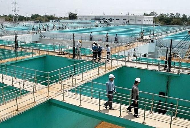 Nhà máy nước mặt Sông Đuống thuộc Tập đoàn AquaOne - dự án cấp nước sạch sinh hoạt có quy mô lớn nhất miền Bắc đã khánh thành giai đoạn 1 tại xã Phù Đổng, huyện Gia Lâm vào ngày 5/9 vừa qua.