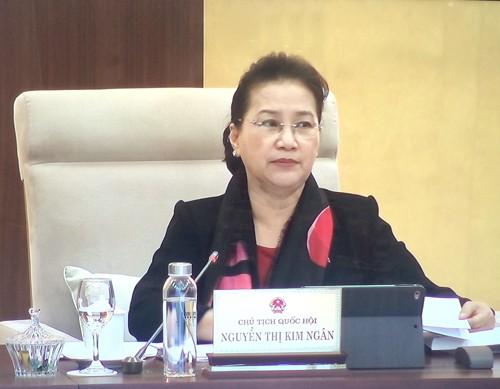 Kỳ họp thứ 9 khóa XIV kéo dài hơn 20 ngày, Quốc hội xem xét, thông qua 10 dự án luật ảnh 1