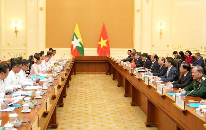 Việt Nam và Myanmar mở rộng hợp tác, chống các loại tội phạm xuyên biên giới ảnh 1