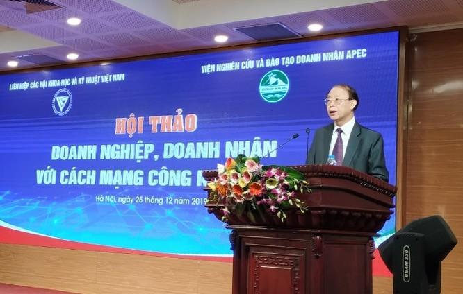 TS. Phạm Văn Tân - Phó Chủ tịch kiêm Tổng thư ký Liên hiệp Hội Việt Nam